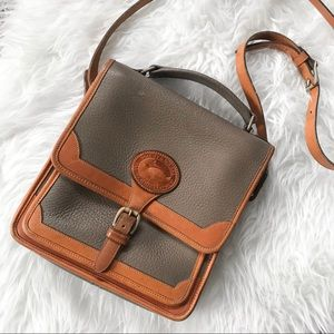 Vintage Dooney & Bourke Surrey Crossbody in Taupe